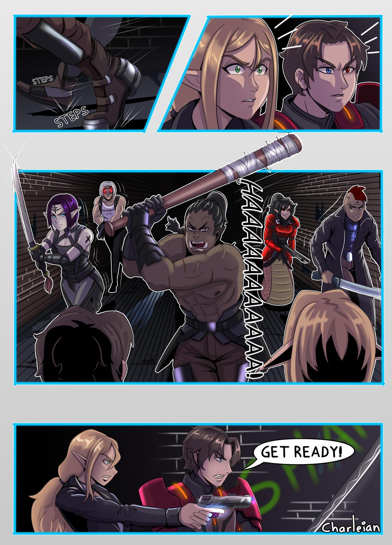 Shadowrun - Nine Tailed Fox - Page 28