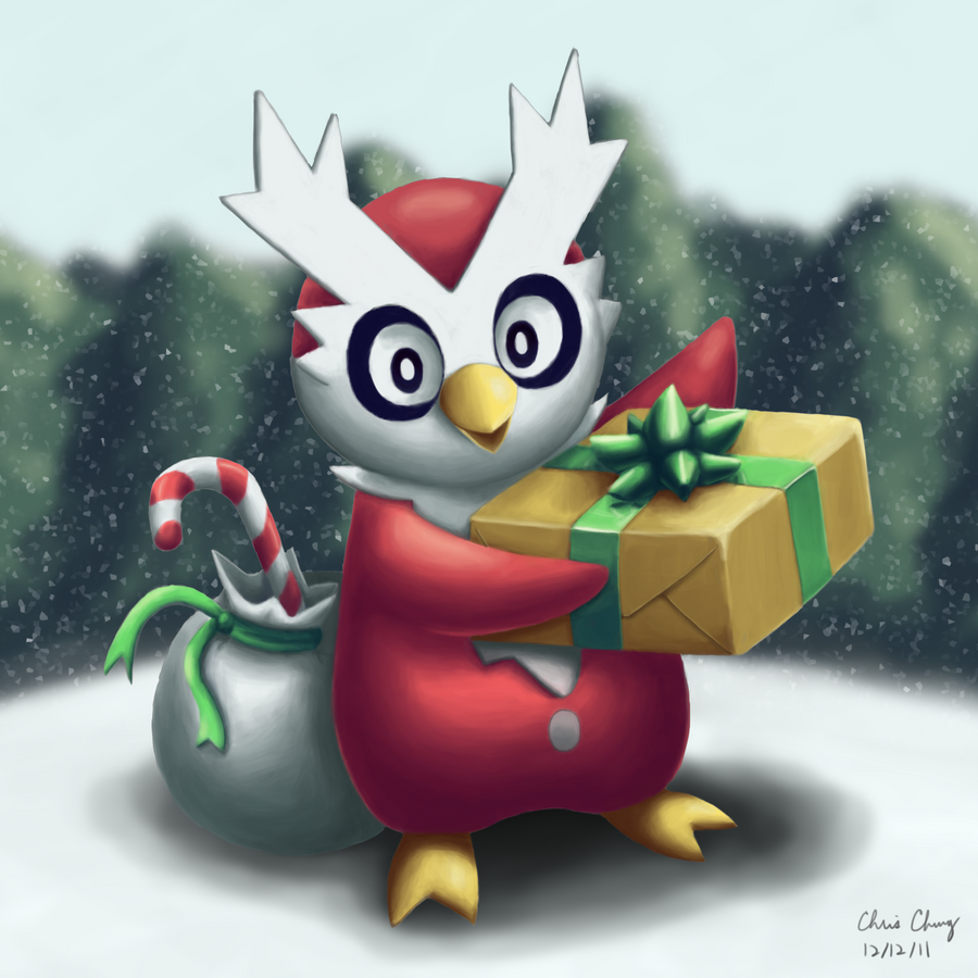 Image result for delibird christmas
