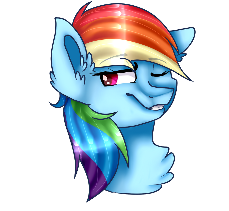 Rainbow Dash Collab by WisdomstarTale