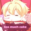 Honey-senpai: too much cake by Anee-Daidouji