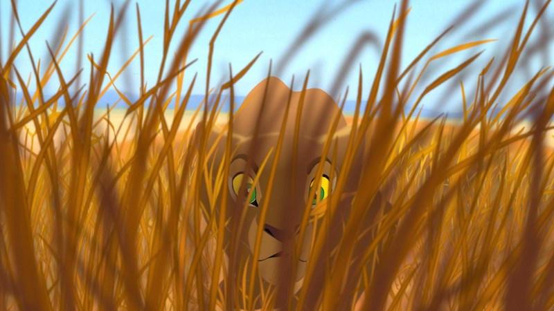 Young Adult Nala Hunts Pumbaa 05