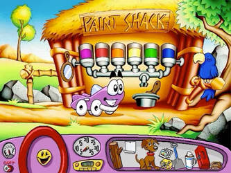 Putt Putt Saves The Zoo Screenshot (Paint Shack)