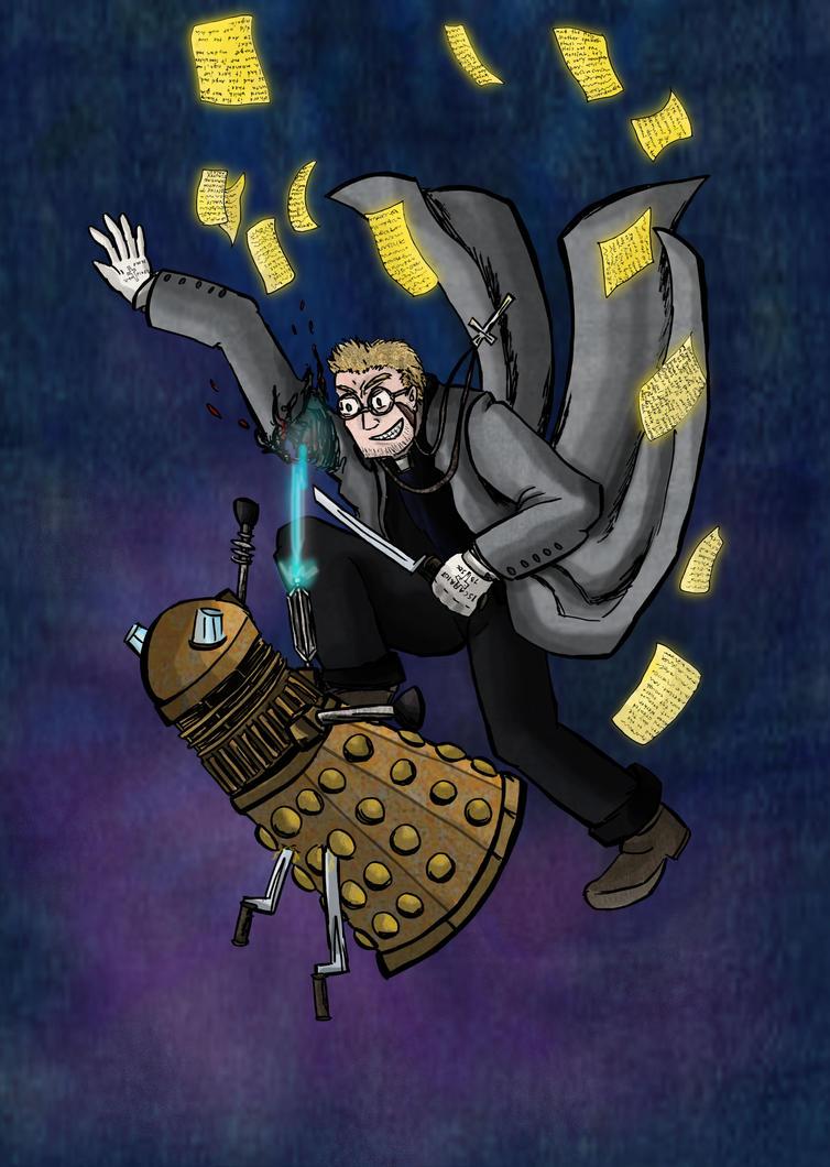 Xenomorph Vs Daleks Anderson vs dalek by liejuXenomorph Vs The Thing