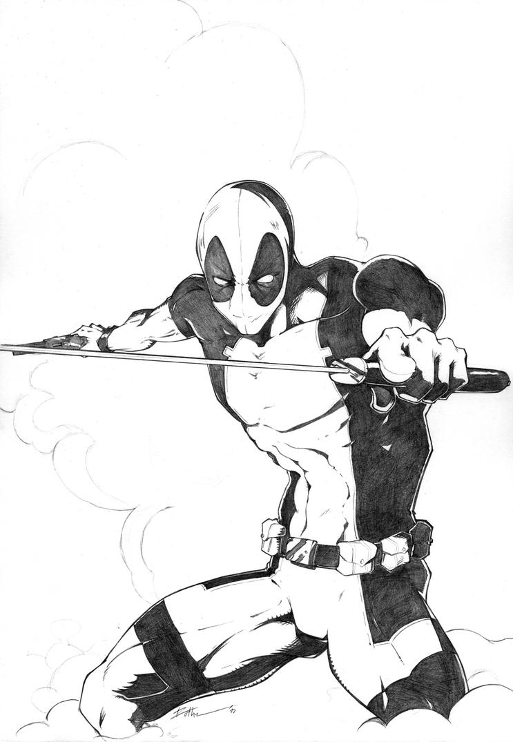 Deadpool by zedeki-arts