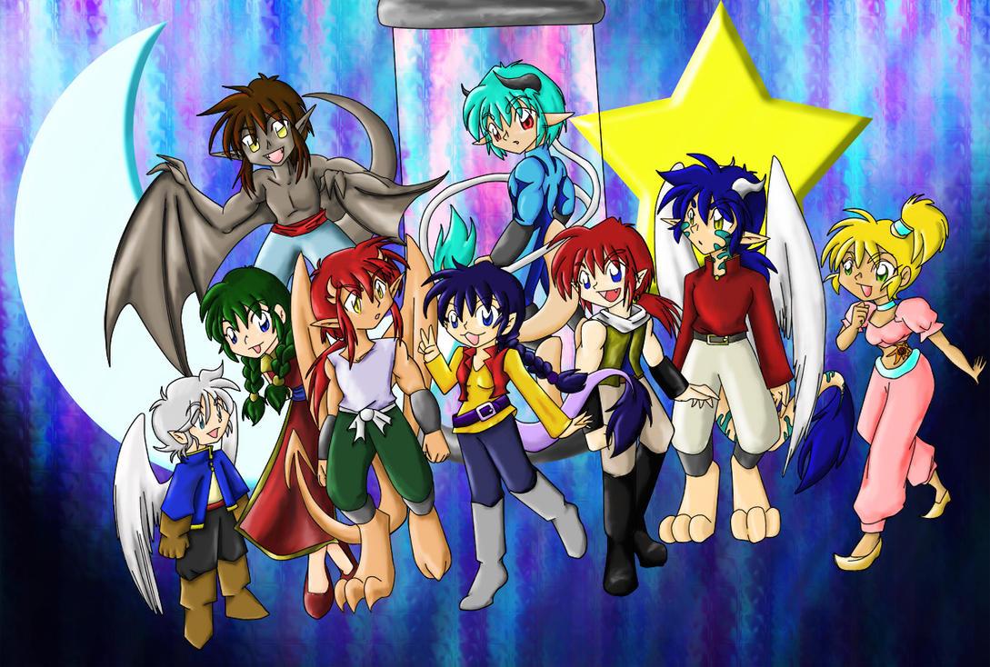 Cast World by HelenStar