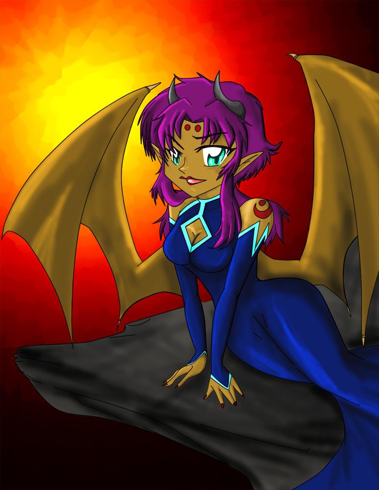 Female Demon. by HelenStar