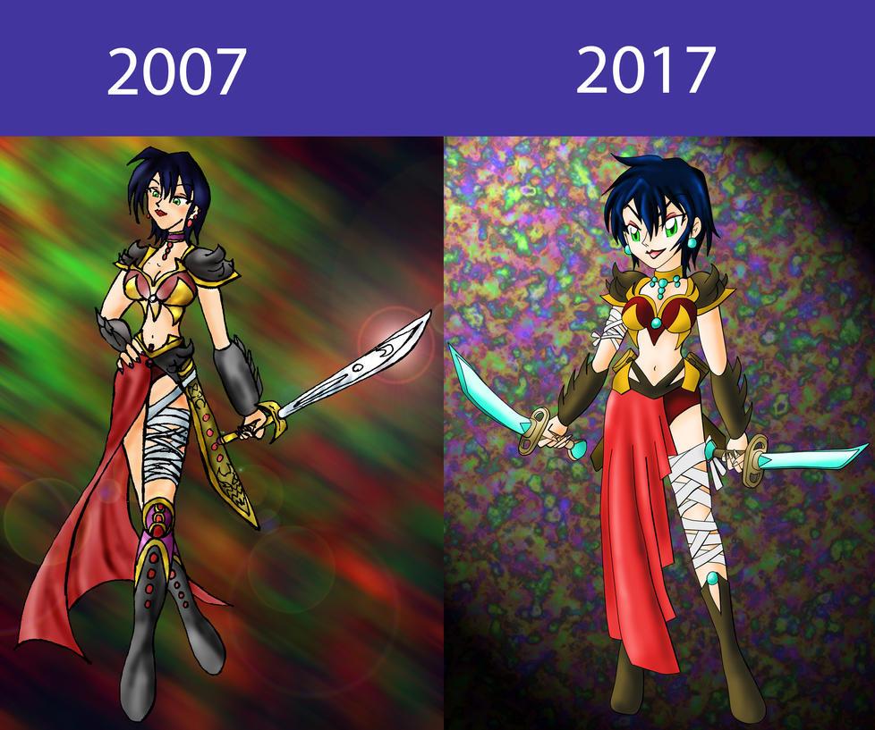 Improvement over the last ten years by HelenStar