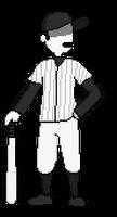 The Batter sprite V2 by Xlyphon