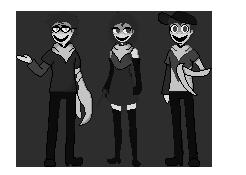Three Siblings - Trashlands by Xlyphon