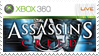 Assassins Creed Stamp Xbox 360 by XantoZ