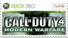 Call of Duty 4 Stamp Xbox 360