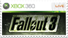 Fallout 3 Stamp Xbox 360 by XantoZ