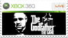 The Godfather Stamp Xbox 360 by XantoZ