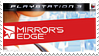 Mirror's Edge Stamp PS3 by XantoZ