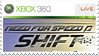 NfS SHIFT Stamp Xbox 360 by XantoZ