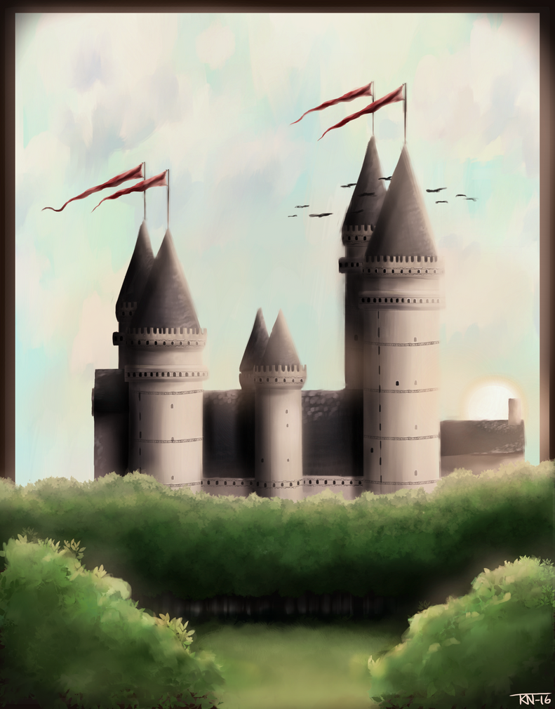 Castle by trinemusen1