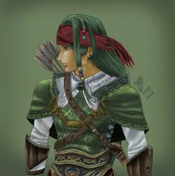 Valkyrie Profile 2: Silmeria - Rufus (colored) by Dango-ojousama