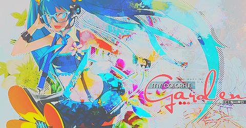 My Colorful Garden:. by Shiro-Takamura