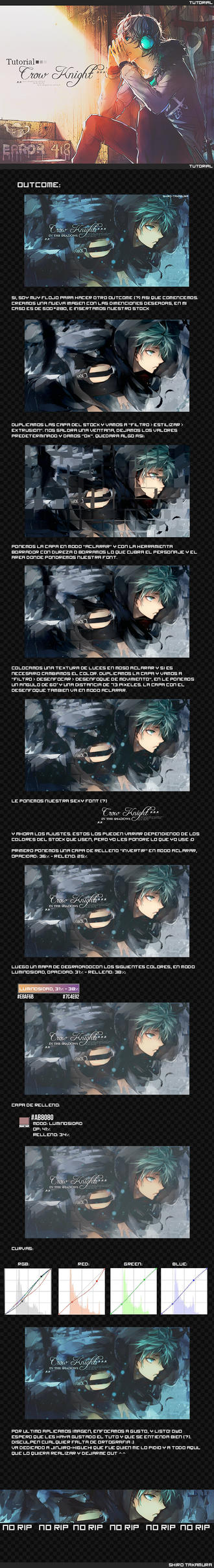 Tutorial: Crow Knight by Shiro-Takamura