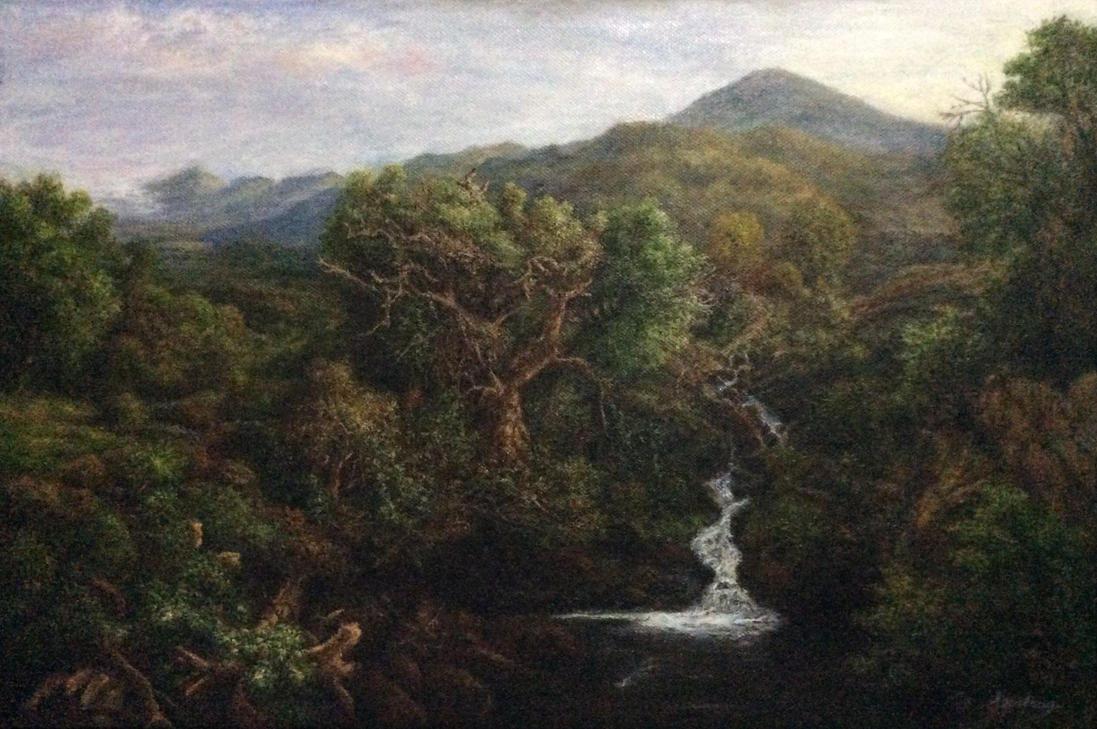 Old Italian forest by fuyukikun