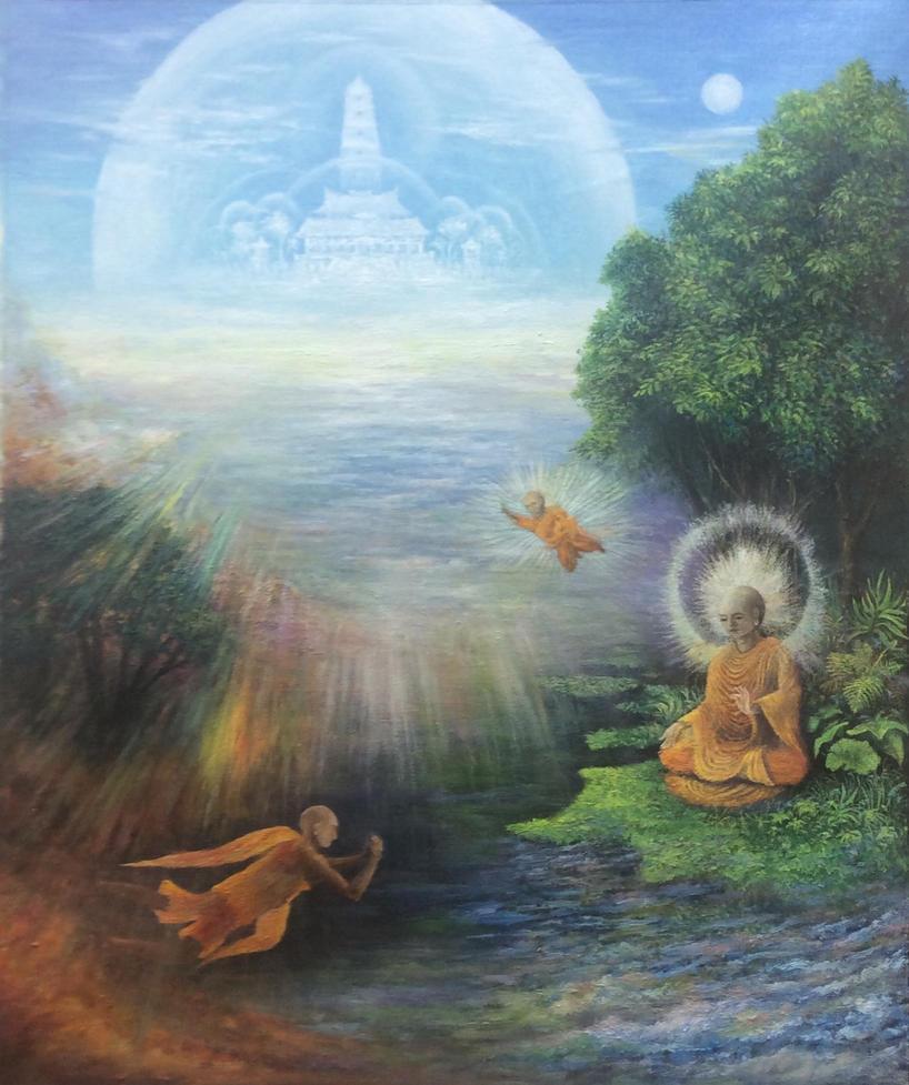 Find your own Buddha by fuyukikun