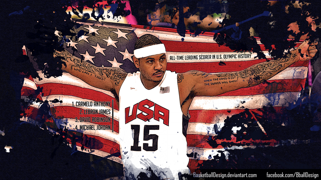 Carmelo anthony wallpaper by basketballdesign on deviantart carmelo anthony wallpaper by basketballdesign voltagebd Images