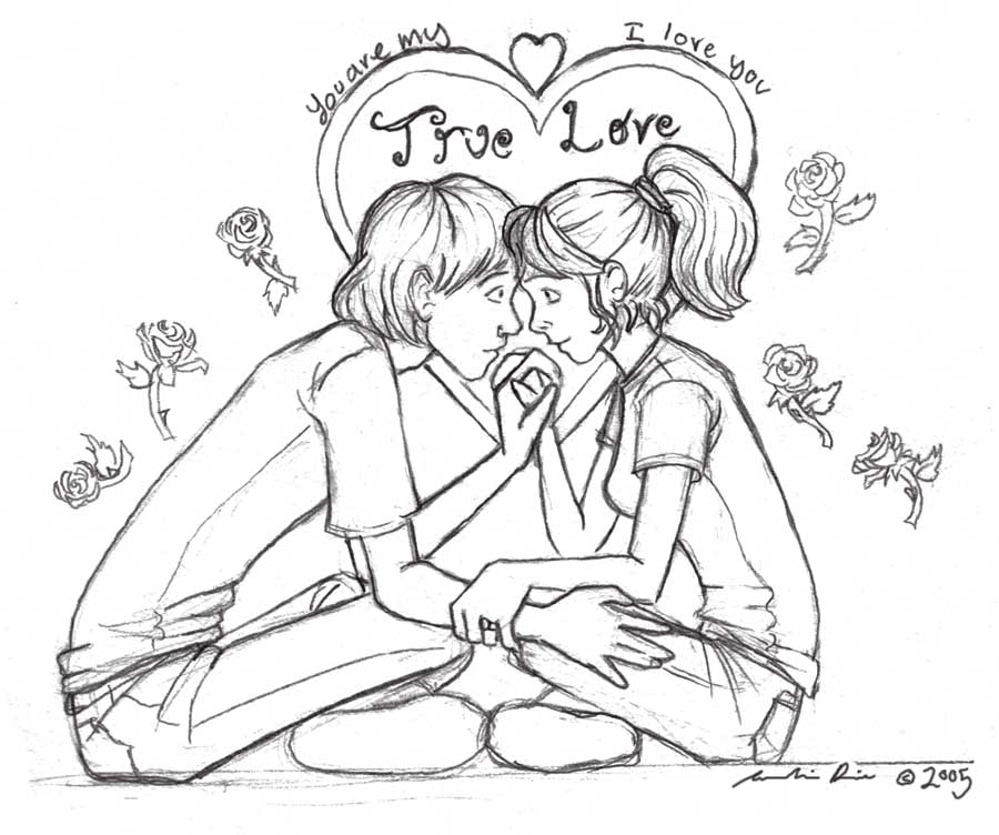 You are My True Love by Lupis-Fox on DeviantArt