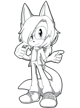 Comission -Lineart-