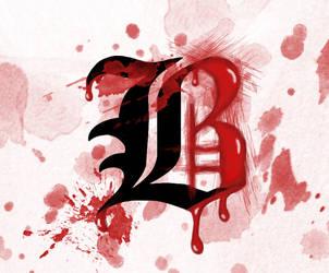 Beyond Birthday's B by pinkhoney-art