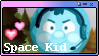 Camp Camp - Space Kid Stamp F2U by marsipone