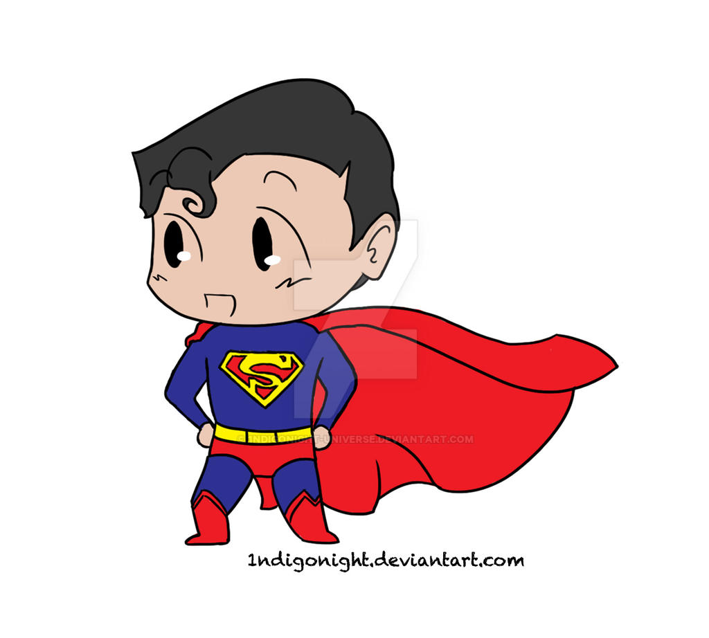 how to draw superman chibi