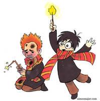 Poor Ron by aimeekitty