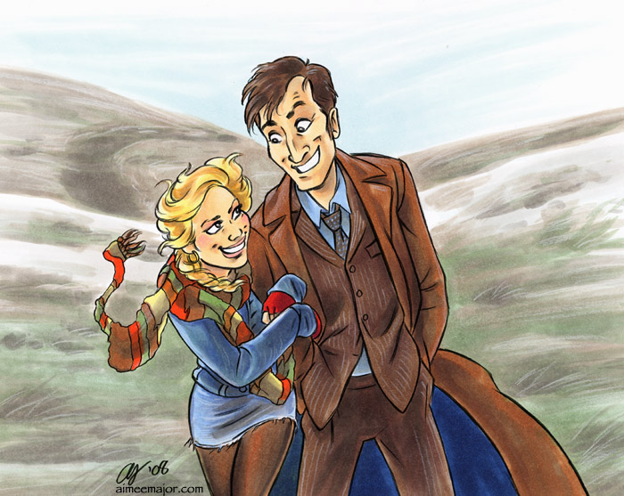 Love Travlin - Doctor Who by aimeekitty