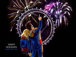 Happy New Year - Doctor Who by aimeekitty