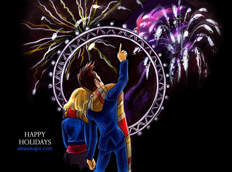Happy New Year - Doctor Who by aimeekitty