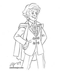 Third - Doctor Who by aimeekitty