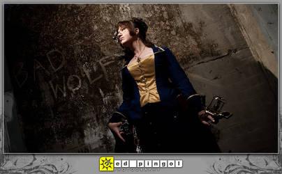 BAD WOLF steampunk Doctor Who by aimeekitty