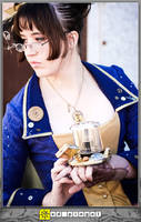 Cardea Steampunk Doctor Who CU by aimeekitty