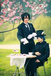 Tea - Kuroshitsuji by aimeekitty