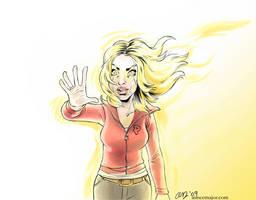 Bad Wolf Doctor Who Rose Tyler by aimeekitty
