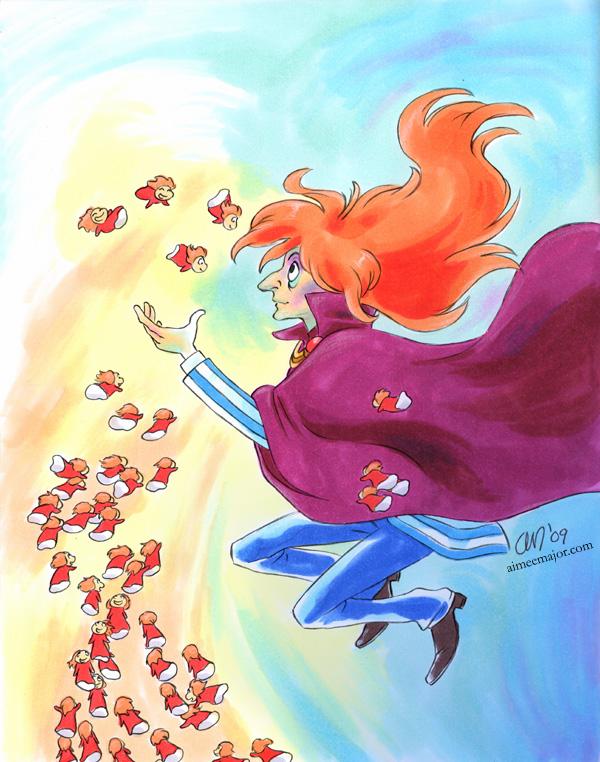Fujimoto - Ponyo by aimeekitty