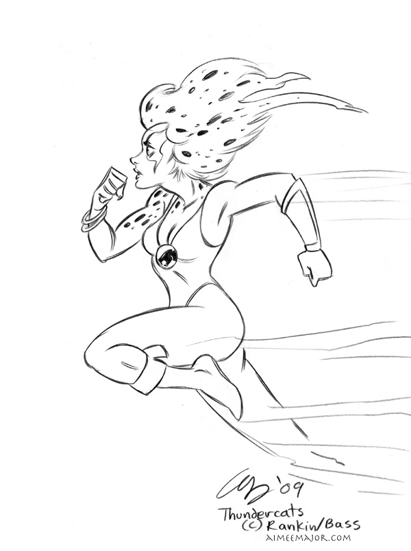 thundercats cheetara by aimeekitty - Thunder Cats Coloring Book Pages