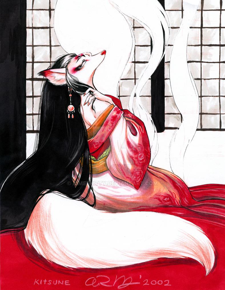 Kitsune by aimeekitty