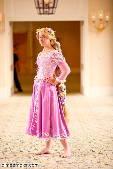 Rapunzel Costume by aimeekitty