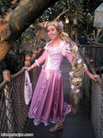 Rapunzel Cosplay at Tree House by aimeekitty