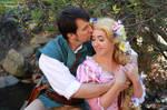 Flynn and Rapunzel Cosplay