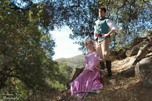 Flynn and Rapunzel Cosplay 2 by aimeekitty