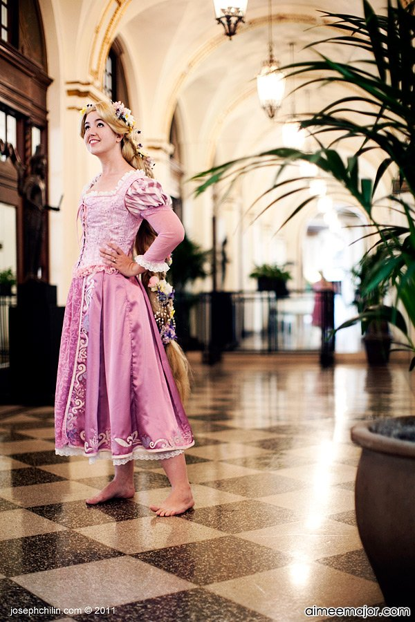 More Rapunzel Cosplay by aimeekitty