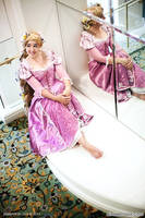 Rapunzel Cosplay Mirror by aimeekitty