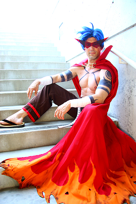 Kamina from Gurren Lagann by aimeekitty